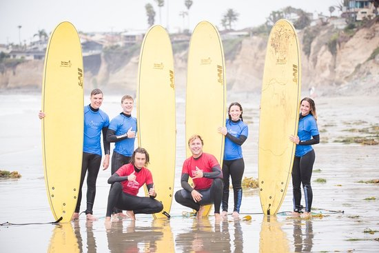‪San Diego Surf School‬