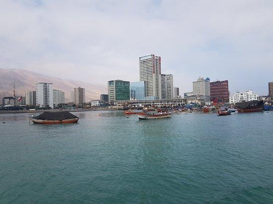 Bilde fra Boya Esmeralda de Iquique