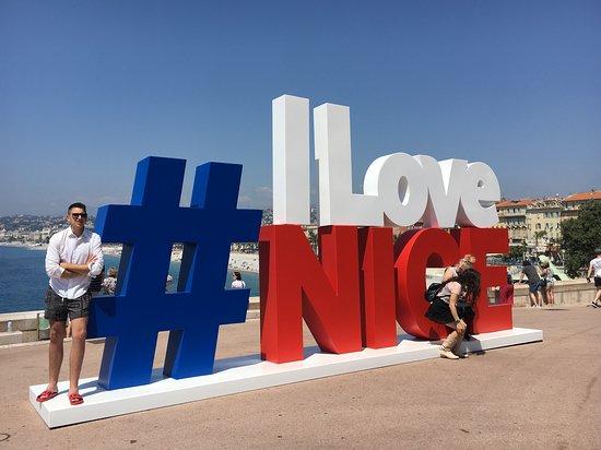 Променад англичан (Променад дез Англе): I Love Nice