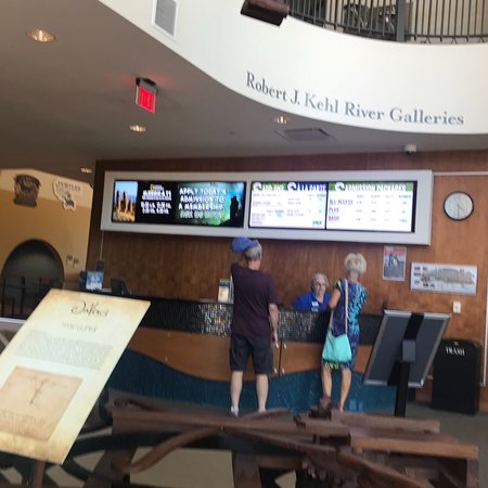 Dubuque, IA: Great for families, travelers, cafe to relax in.