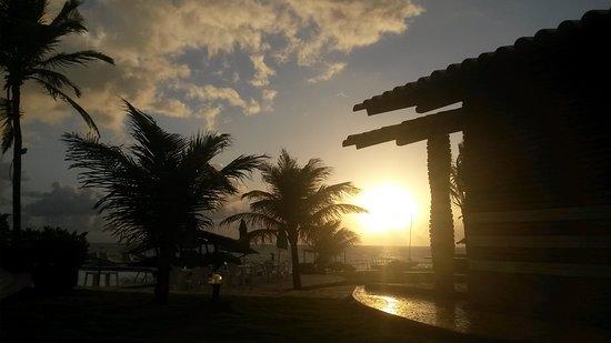 Pousada Paradise: Todos os dia o nascer do sol, vem com formas e cores diferente!!!