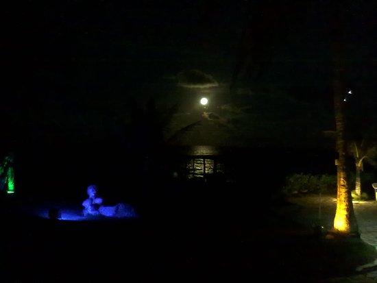 Pousada Paradise: As noites de lua cheia, são especialmente românticas!!!