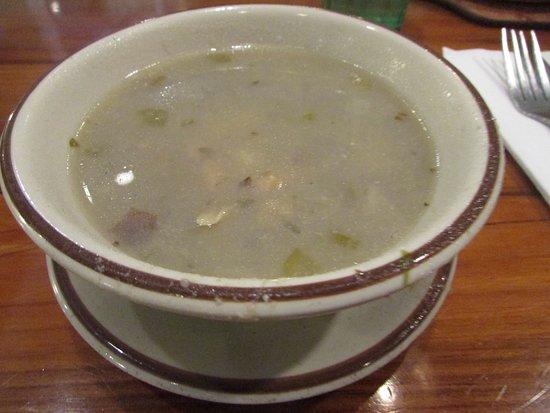 Chowder Pot IV: Rhode Island clam chowder