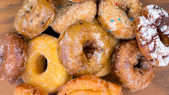 LaMar's Donuts and Coffee: We have over 75 different varieties of donuts.