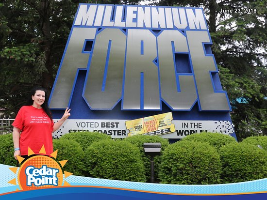 Парк развлечений Cedar Point Amusement Park: Millennium Force