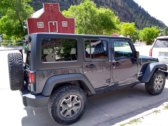 Canyon Creek Jeep
