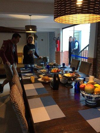 Marica B&B: Wonderful breakfast