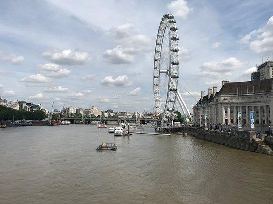 Лондонский глаз: histórico lugar