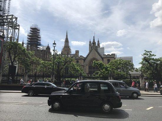 Лондонский глаз: clásicos taxis