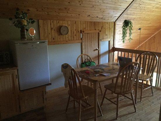 Chibougamau, แคนาดา: Kitchen in Loft Apartment