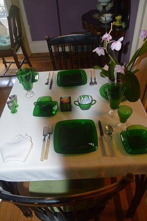 Bennettsville, Южная Каролина: Beautiful table place settings