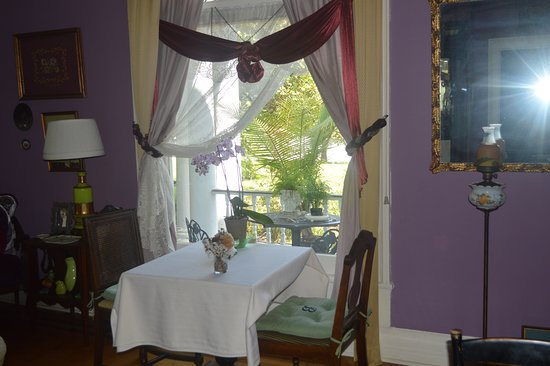 Bennettsville, Южная Каролина: Our table by the window