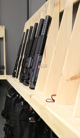 MI-Combat Tactical Laser Tag: The irSMG:  the newest & most advanced laser tag weapon.  Authentic lights, sounds and even reco