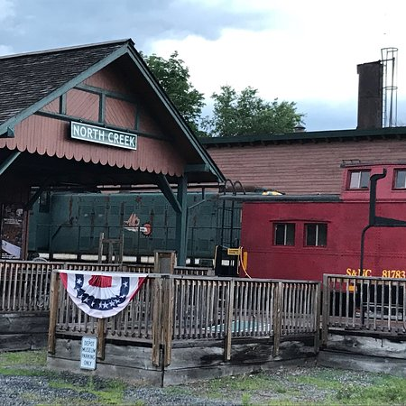 North Creek, NY: Interesting depot with a connection to Theodore Roosevelt.