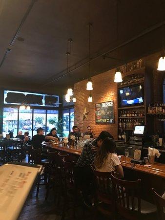 The Burger Saloon: Interior