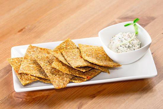 Cafe by Tao: Crackers with Dill Nut Cheese