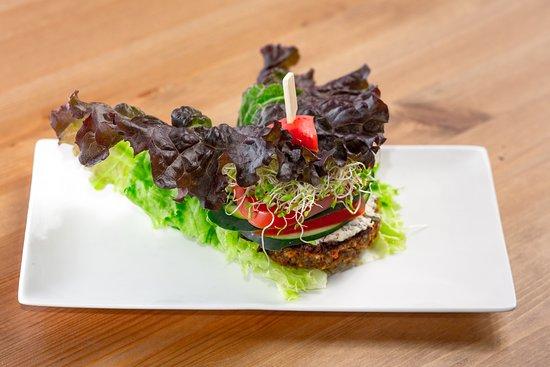 Cafe by Tao: Falafel Lettuce Wrap