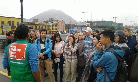 Free Walking Tour Peru