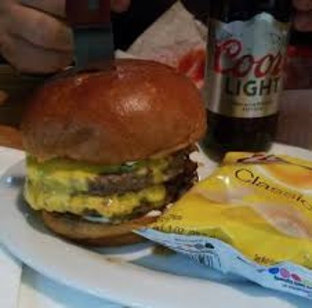 Reed City, MI: Voted top 10 bar burger in the state on @Pintrest and best burger multiple years running locally