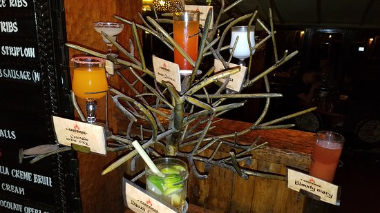 The Carnivore Restaurant: Cocktail tree