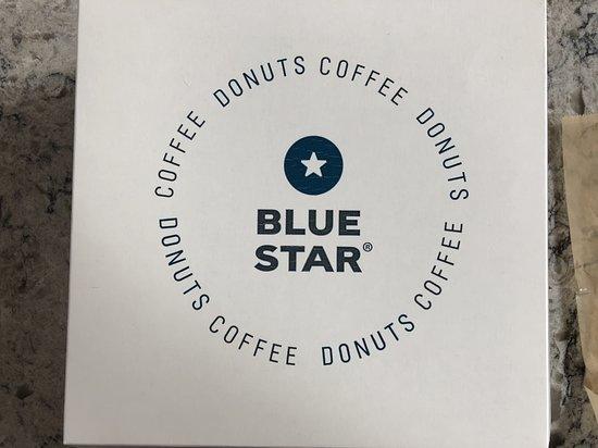Blue Star Donuts: box