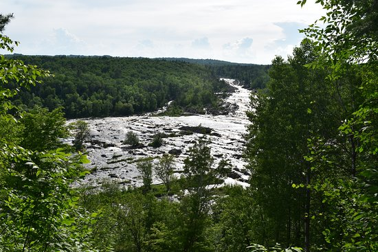 Jay Cooke State Park: View from Oldenburg Point