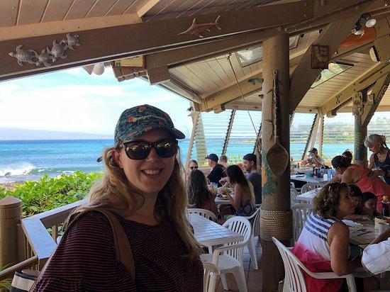 Gazebo Restaurant at Napili Shores: Inside the Gazebo