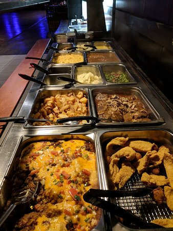Yantis, TX: Weekday and Sunday Lunch Buffet