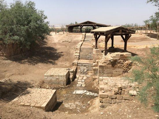 Jordan Inspiration Tours: Al-Magtas where Jesus was baptised