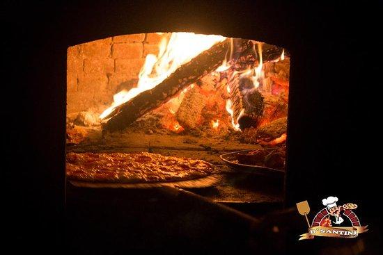 D´Santini: Las mejores pizzas a la leña