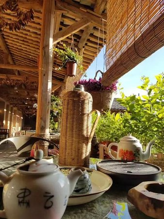 Jiuquan, Kína: 粗茶淡饭有真意