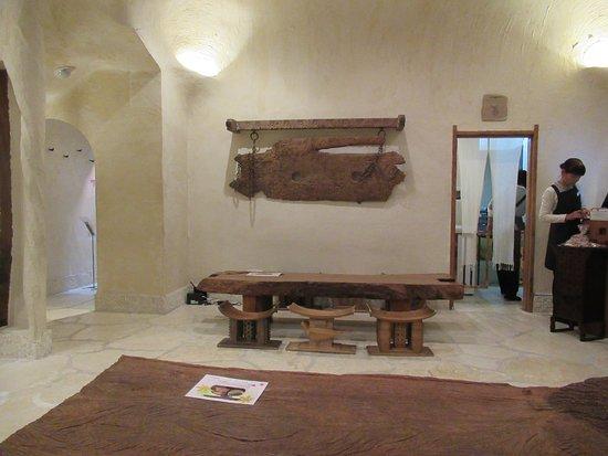 Itchiku Kubota Art Museum: inside the cafe