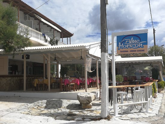 Blue Horizon Restaurant: Terras