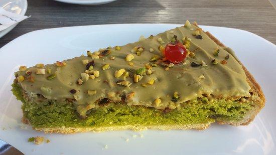 Bella Sicilia : Pistachio tart!