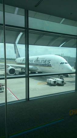 Singapore Airlines: SQ A380 to HK from Singapore Changi Airport