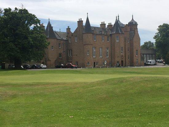 The Musselburgh Golf Club: Die 18 vor der Burg