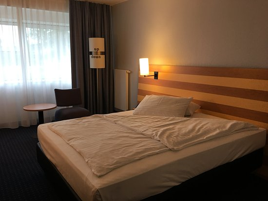 IntercityHotel Frankfurt Airport: My room
