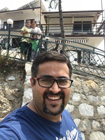 Astre Vue Resort: Family Selfie at Astrevue resort