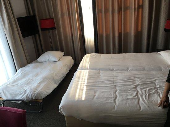 Mijdrecht, Niederlande: Tiny triple room