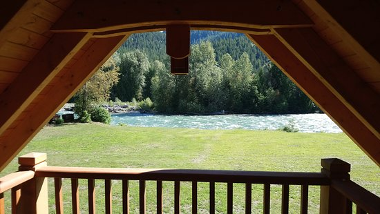 Grizzly Bear Ranch: View from Whitewater