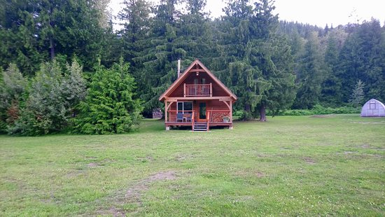 Grizzly Bear Ranch: Whitewater cabin