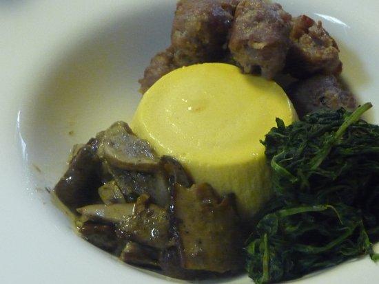 Osteria Da Nice: antipasto budino di parmigiano