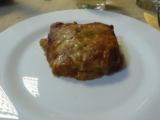 Osteria Da Nice: parmigiana di melanzane