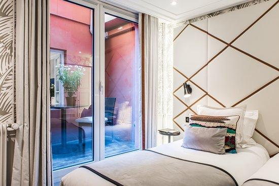 Hotel Jardin Le Brea: Classic Twin Room / Chambre Twin Classique