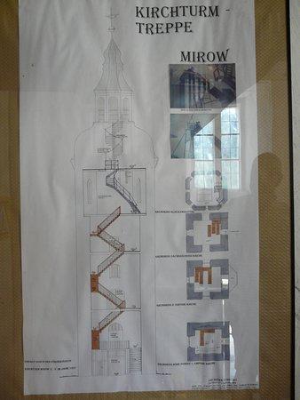 Mirow, Tyskland: Skizze Turm