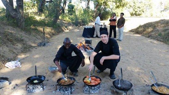 Tintswalo Safari Lodge: Bush Breakfast