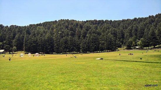 Khajjiar Lake Khajjiar Mini Switzerland Of India People Enjoying Differently And The Beautiful