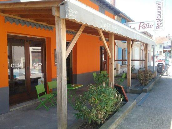 Beauchastel, فرنسا: Le Patio