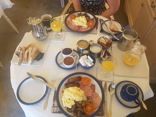 Amulree Bed & Breakfast: Frühstück