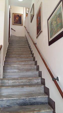 Hotel Hieracon: Scale antiche